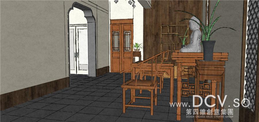 陕西-宝鸡青阶茶室禅意设计